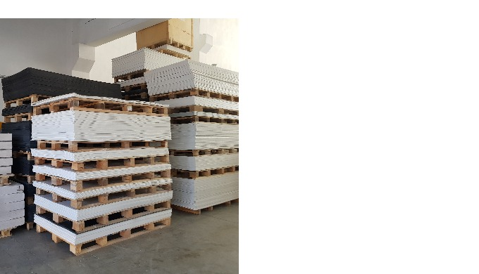 ABS (Acrylonitrile Butadiene Styrene) Sheets Thickness Range 1-12mm. Width: 1000mm. Lenght: 2000mm (Standard). Length ca