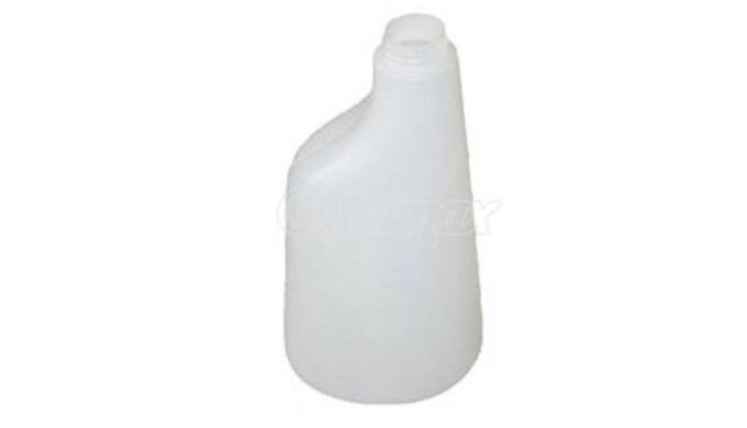 Bouteille polyéthylène 600 ml universelle. Conçue pour recevoir les gachette bleues, vertes, rouges et jaunes présentes