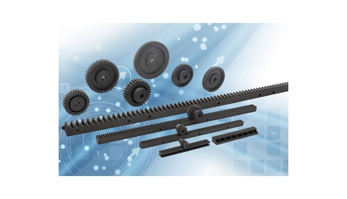 New Standard Components – modular Racks and Spur gears from Elesa