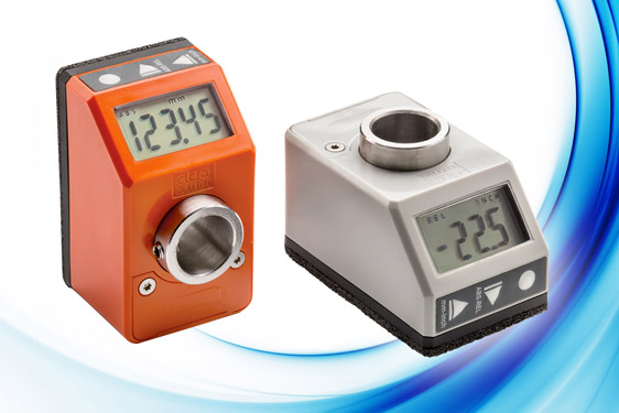 Versatile new IP65/67 Direct Drive Electronic Position Indicator from Elesa UK