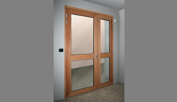 Blocs portes bois vitr s ei30 ei60 par malerba for Bloc porte ei30