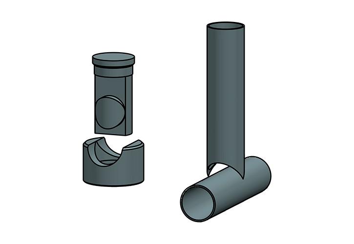 Utillajes: para abocardar tubos