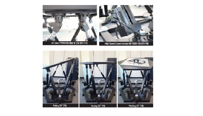 6 Axis motion platform system ㅣ Ship Motion Simulator