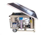 Solar Mobile RO Water Purification - RO300S
