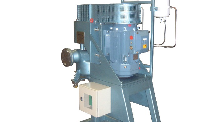 Continuous in-line size reduction, dispersion and mixing of liquids, slurries and suspensions. Developed from the well p