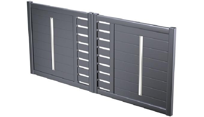 SOCREDIS a développé une large gamme de profilés et de pièces injectées destinés à la réalisation de clôtures et de port