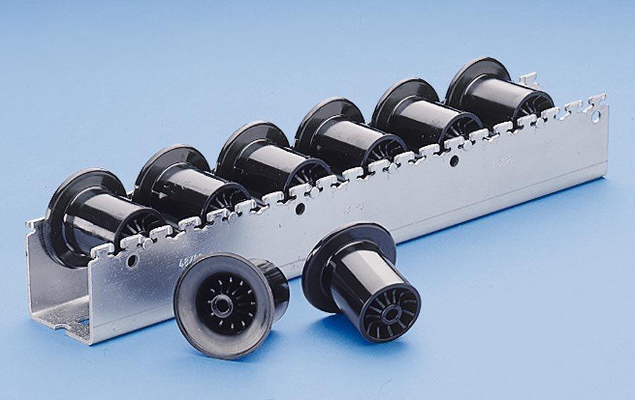 Ø 46 mm / Rollenteilung 96 mmDie rationelle Arbeitsplatzverkettung in Produktion, Endmontage, Lager und Versand. Montage