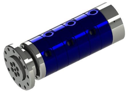 Mehrwege-Drehdurchführung für Wasser, Luft, Vakuum und Hydrauliköl Produkteigenschaften: universell einsetzbar – kühlen,