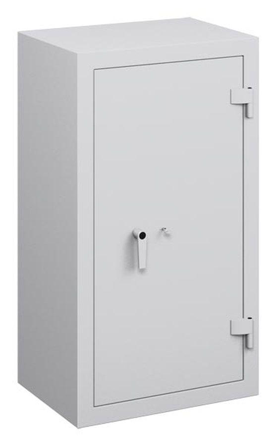 Sicherheitsstufe S1 nach PN-EN 14450 : 2006 Korpus allseitig doppelwandig. Tür doppelwandig, 80 mm stark. Türblatt aus 3