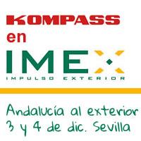 Kompass España estará presente en el IMEX Andalucía