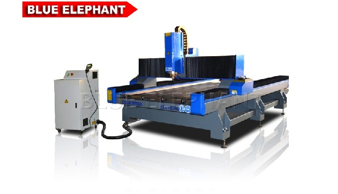 Features 1. Together with 1324-4 4 axis CNC Router Machine, the machine was designed with Water Cooling Spindle. 3 axis