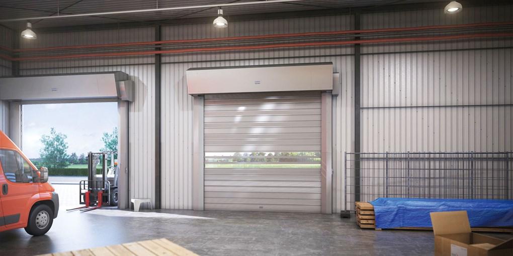 ASSA ABLOY Schnelllauftore/Außentore mit starren Behängen