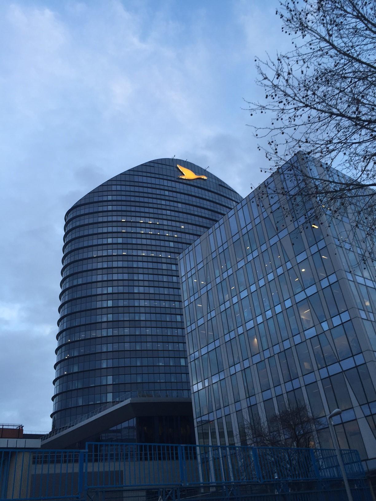 Actif Signal réalise les enseignes de façade du nouveau siège du numéro un européen de l'hôtellerie.