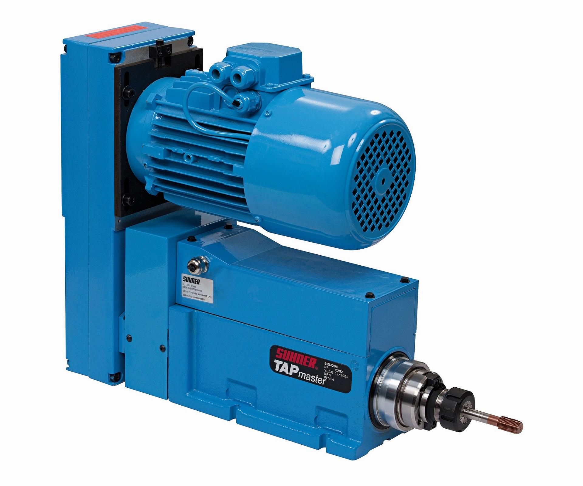 GEM20-125 - Unité de taraudage capacité M20