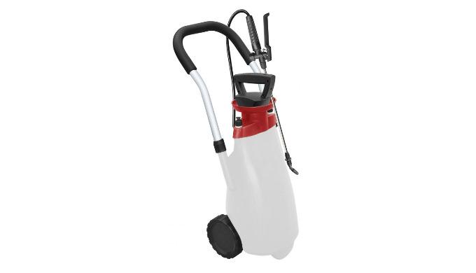 Avec sa tête électro-pneumatique, il met sous pression 1.8 bar le réservoir de 12 L et maintient cette pression. La pomp