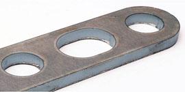 Fabricación de componentes para el chasis de camiones, estructuras y accesorios además de pequeñas piezas como soportes,