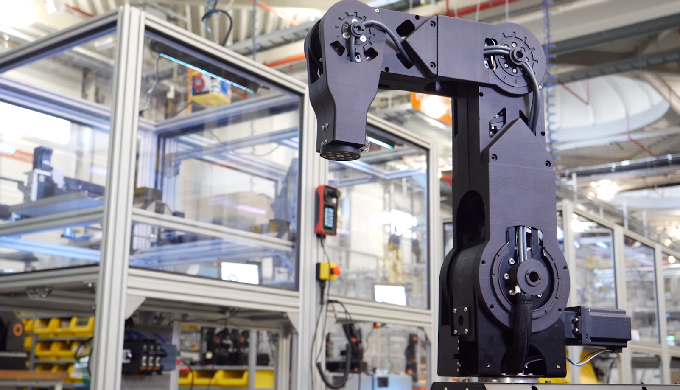 robolink® 4 or 5-axis robot arm with and without integrated control system: RL-DP