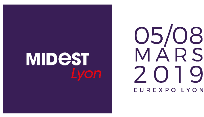 Participation au salon MIDEST à Lyon début Mars 2019