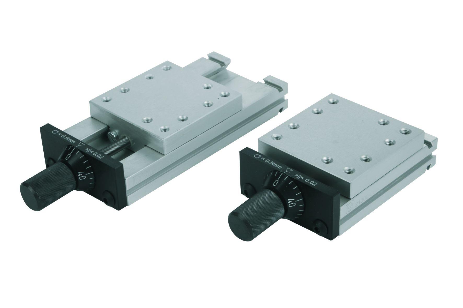 Werkstoff: Aluminium EN AW-6063. Hinweis: Diese präzisen Schlittenführungen werden unter anderem eingesetzt im Maschinen