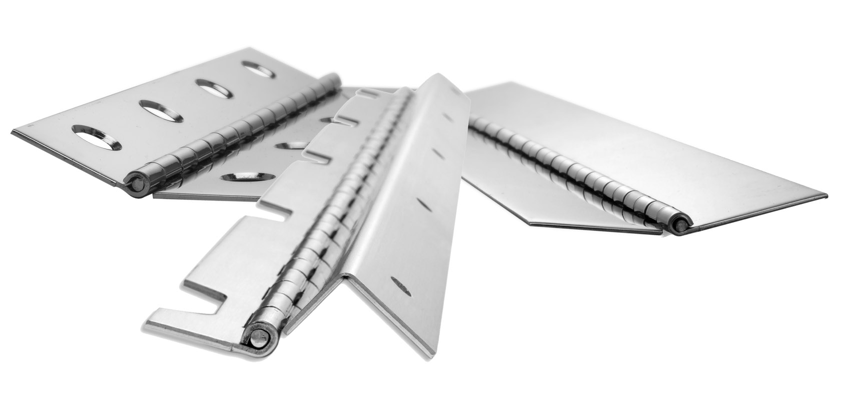 Design Make-To-Order continuous piano hinge parts using low-cost and time-saving standard continuous hinge specification