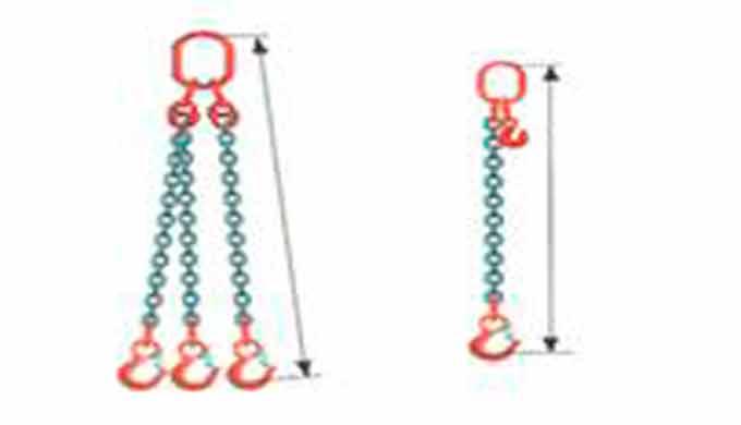 Eslingas de cadenaE · Eslingas de cadena grado 80 y 100 · Conjuntos multi-ramal · Eslingas de c
