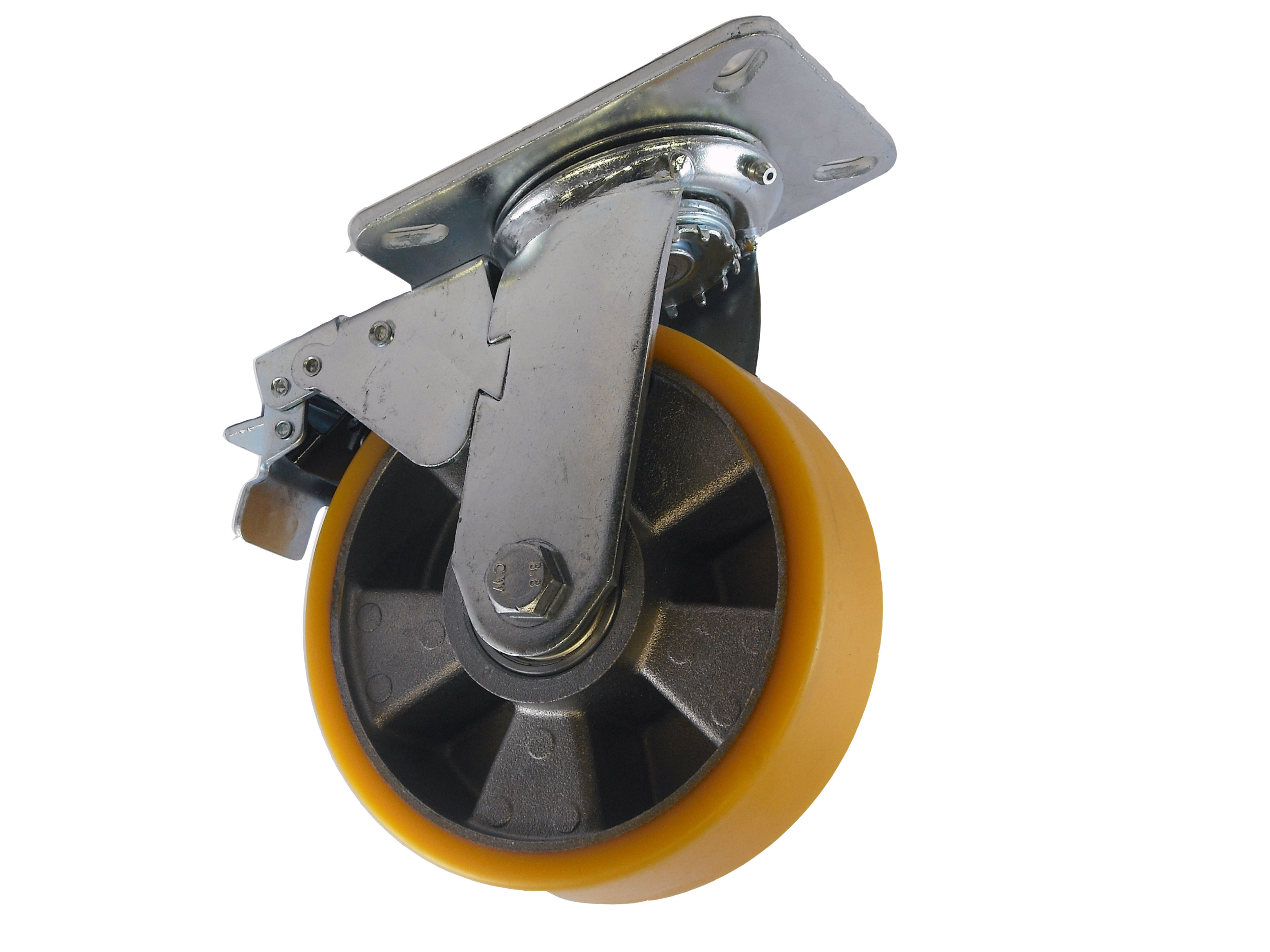 Medium Duty Fabricated Steel Castors