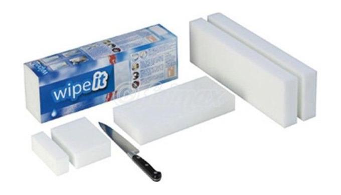 """WIPEIT PRO - Eponge """"wipe it pro"""" 350 X 110 X 40 mm lot de 2 pains"""