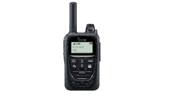 IP501H - Portatif LTE (4G/3G) ICOM - solution radio avancée sur IP