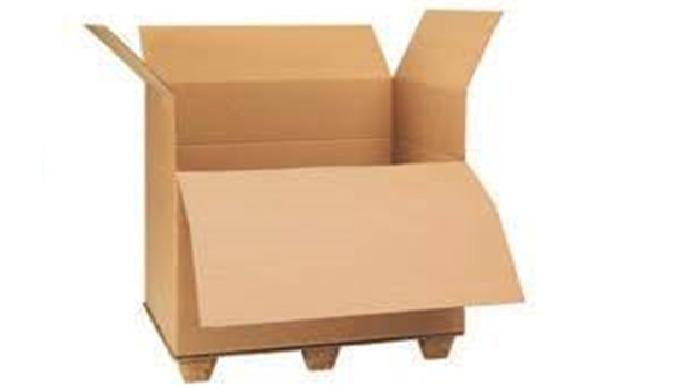 Paletové boxy a skládací paletové boxy z kvalitní vlnité lepenky