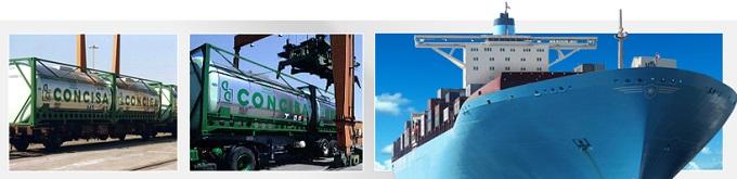 Transporte nacional e internacional de productos alimenticios