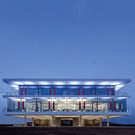 Waldmann LED-Stehleuchten in energieautarkem Planungsbüro