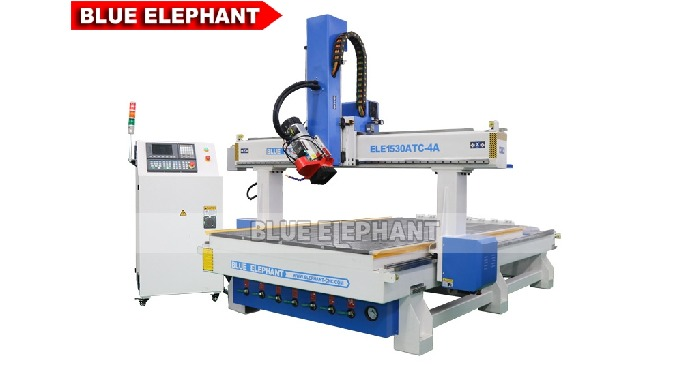 Features:    1.  Like 1530-4A Woodworking CNC Machine, the machine was made with heavy duty frame and gantry, strong str