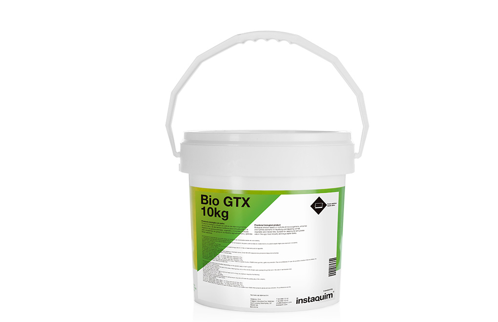 Bio GTX, producto biológico en polvo.