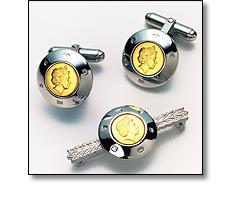 Corporate jewellery to include Cufflinks Ear rings Long serice awards belt buckles etc..