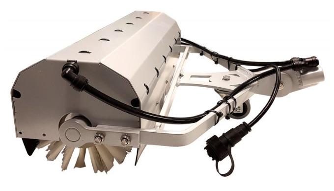 La brosse rotative RB24 est conçue pour nettoyer les panneaux photovoltaïques et panneaux solaires, pour un usage intens