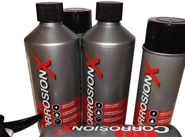 Description Corrosion X™ Anti Corrosion spray gives users 'piece of mind' on application. Unlike alternatives the unique
