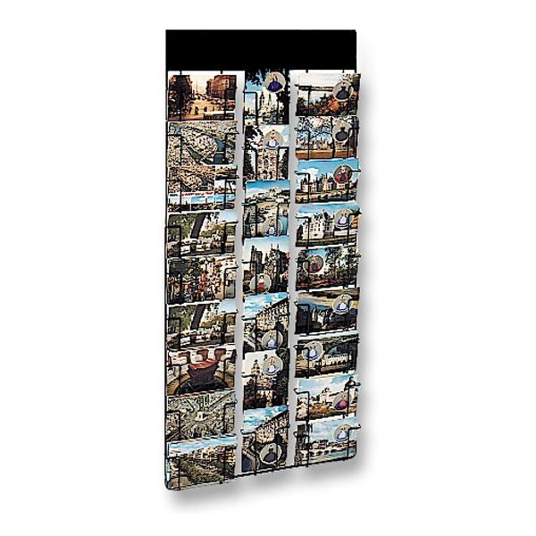 Pour tous lieux de vente: magasins, hôtels, collectivités 18 cases pour cartes en largeur 7 cases pour cartes en hauteur