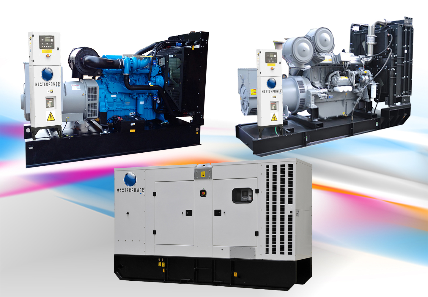 Masterpower MPP Series Perkins Diesel Engine Based Generator Sets