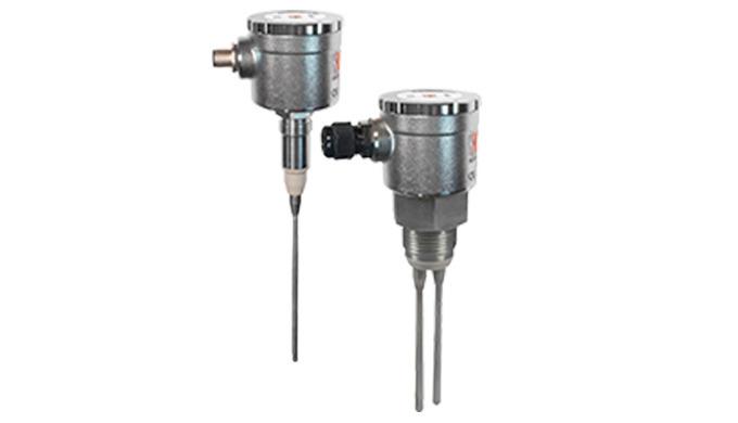 Für leitfähige Flüssigkeiten (>10 µS) Sonden: 1 - 4 Stück, Länge: 4 - 2000 mm Anschluss: G &frac12&#x3b;, G 1, hygienegerecht