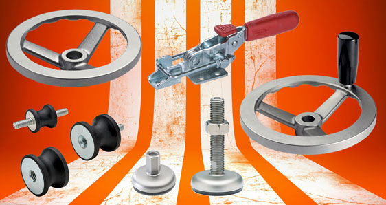 Elesa stainless steel industrial components for exceptionally robust service