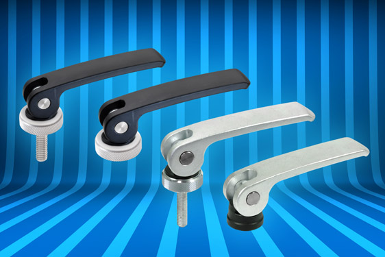 Elesa's GN 927 series clamping levers provide quick, easy clamping forces up to 8 kN. The clamping levers can be used fo