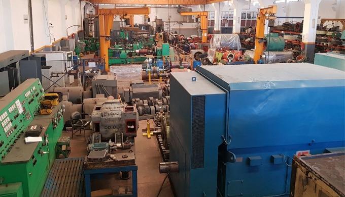 Réparation des alternateurs et des turbo-alternateurs (Turbine à gaz).  Entretien et rebobinage des moteurs BT/MT