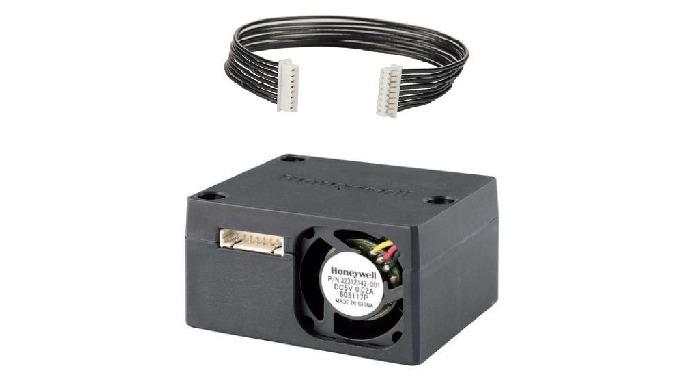 Détecteur de particules laser HPM Ce capteur mesure les particules PM2.5 et PM10, avec une précision de 15%, il consomme