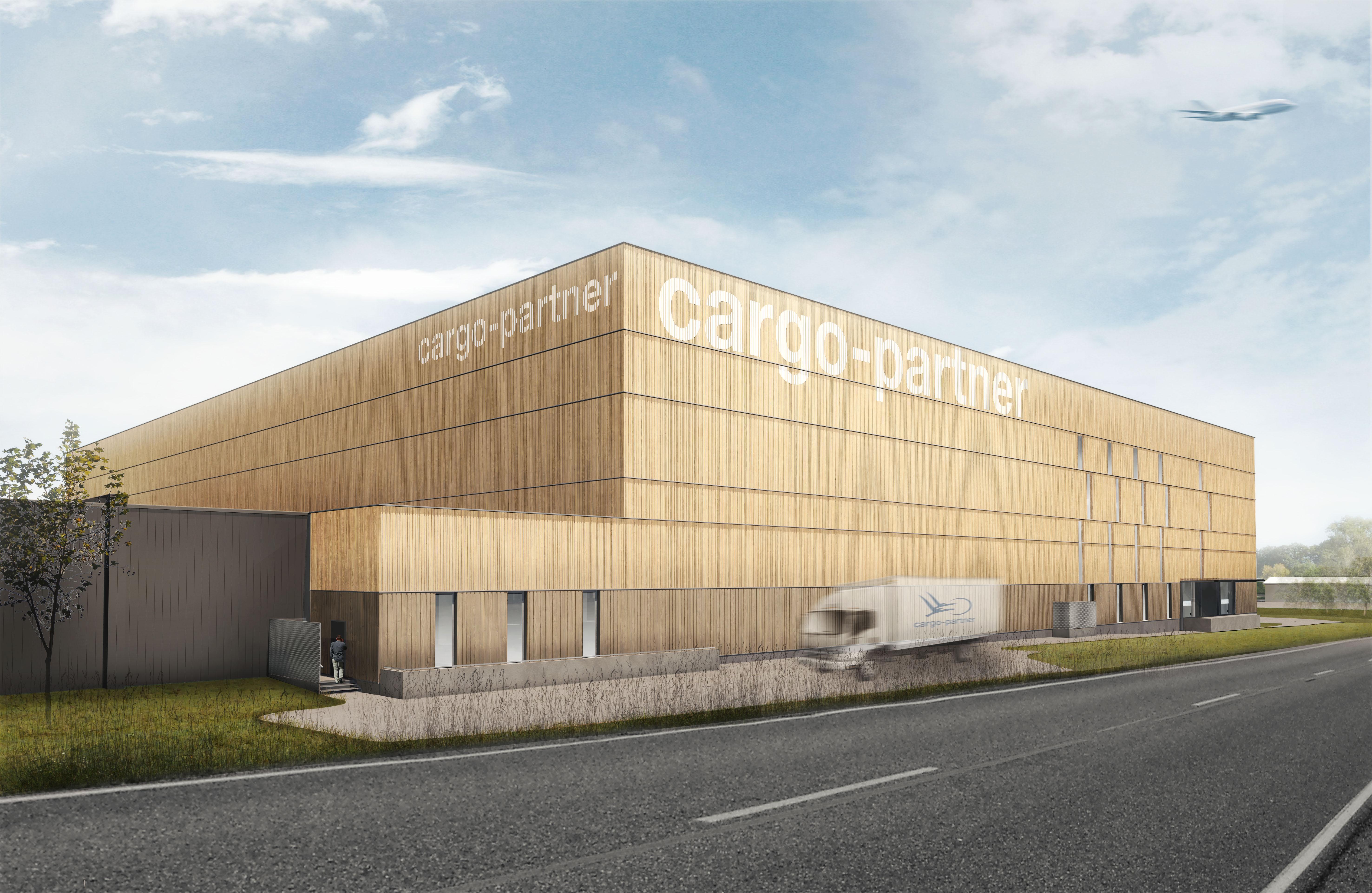 cargo-partner slaví zahájení stavby nového logistického centra v rakouském Fischamendu