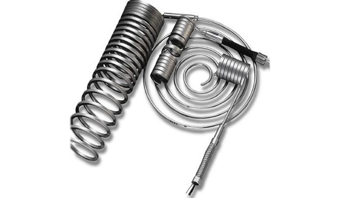 Calefactores ideales para las condiciones de trabajo extremas, como alta temperatura, presión o vacío. De diámetro reduc