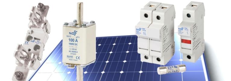 Protections pour applications photovoltaiques