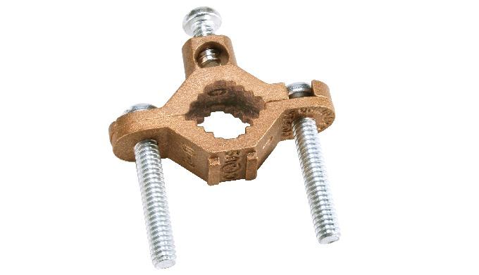 Bronze Ground Pipe Clamp