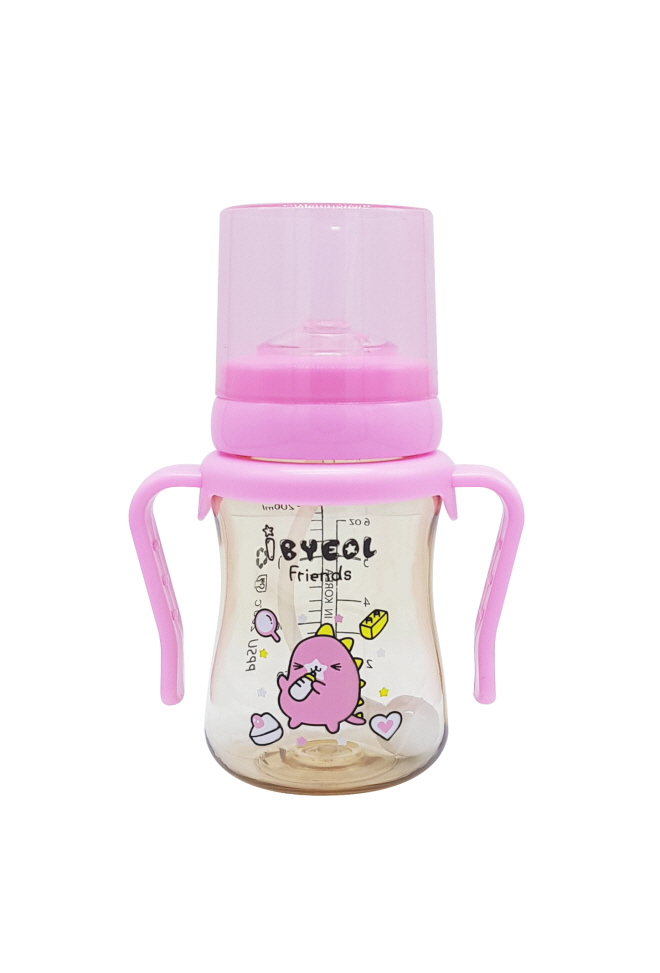 - Volume : 200ml, 300ml - Material : PPSU - Safety : US FDA approval, BPA-free - Air valve : Prevent colic and leakage.