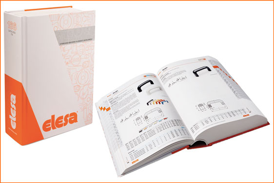 Elesa's new 2017 printed catalogue no. 166 defines over 40,000 components used in the manufacture of machines and equipm