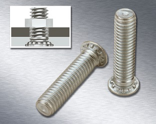 PEM FHP-Bolzen für dünne Stahlbleche jetzt in A286-Qualität